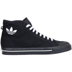 the best attitude c7e20 b09b1 Adidas by Raf Simons Raf Spirit high top canvas sneakers (640 PEN) ❤ liked