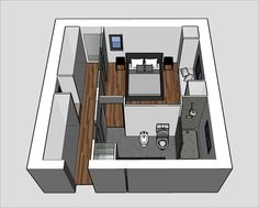 Plan suite parentale – Arife Kovan - Let's Pin This Master Bedroom Plans, Master Bedroom Layout, Bedroom Closet Design, Bedroom Floor Plans, Master Room, Bedroom Layouts, Home Bedroom, Bedroom Ideas, Master Closet