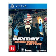 Americanas Game - Payday 2: Crimewave Edition - PS4 e Xbox one- R$44,91 á vista