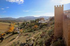 Ronda - widok z murów Murallas de La Clijara