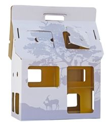 mobile house for your fave figurines