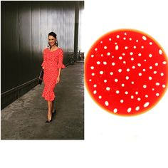 "Adda's All – Fashion Food inspiruar nga Albana Osmani – supe luleshtrydhesh ""polka dots"""