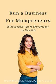 Being a mom while running a business is a challenge. But moms, you are the most resourceful people on Earth. You got it. Here come 18 tips to run a business a be an awesome mom. #smallbusinessmom #brillantbusinessmom #worklifebalancetips #worklifebalance Start A Business From Home, Work From Home Moms, Starting A Business, Free Instagram, Instagram Tips, Make Money Online, How To Make Money, Work Life Balance Tips, Working Mom Tips