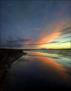 Sunset on Loch More - Scotland