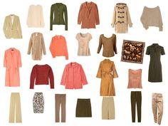 warm spring palette   Boots – Chloe, Flat sandals – CO -OP Barneys, Camel pumps – Kate ...