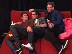 """The two """"Neighbors"""" stars sit down for an intimate discussion with MTV News' Josh Horowitz."""