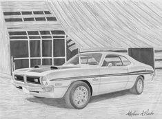 1971 Dodge Demon, Rook, Print Artist, Muscle Cars, Fine Art America, Classic Cars, Instagram Images, Black And White, Art Prints
