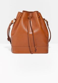 & Other Stories | Drawstring Leather Bag