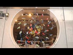 A window display in Nike Beijing for the new Free Run + series. Interactive Display, Visual Display, Boutique Design, Shoe Boutique, Nike Retail, Retail Technology, Mobile Sculpture, Shoes Too Big, Retail Windows