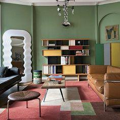 Apartamento em Bruxelas, Bélgica. Projeto do designer Jean-François. #architecture #arquitetura #interiores #arquiteturaeinteriores #arte #artes #arts #art #artlover #design #interiordesign #architecturelover #instagood #instacool #instadaily #furnituredesign #design #projetocompartilhar #davidguerra #arquiteturadavidguerra #shareproject #livingroom #livingroomdesign #belgium