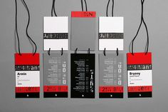 2014 Brand New Conference Identity and Materials on Branding Served