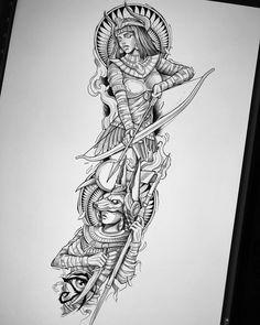 Tattoo Design Drawings, Tattoo Sleeve Designs, Tattoo Sketches, Tattoo Designs Men, Egypt Tattoo Design, Leg Tattoos, Body Art Tattoos, Sleeve Tattoos, Future Tattoos