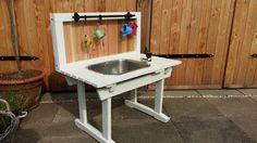 Kindertafel watertafel kinderspeelgoed diy zelfbouw water spelen