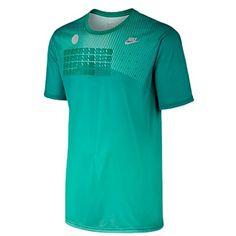 NIKE Nike Men'S Legend Dri-Fit Poly S/S Crew Top. #nike #cloth #