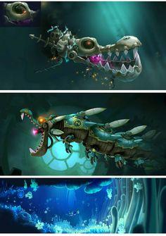 """Rayman Legends"" (theconceptartblog, 2013)"