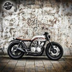 motomood:   Honda CB750 cafe racer   frans lahaye / cafe racer