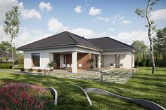 Zdjęcie projektu TK176 WAK1078 Natural Building, Home Fashion, Home Projects, House Plans, Shed, Backyard, Exterior, Outdoor Structures, Cabin