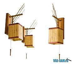 Поделки из бамбука. Бра, люстра торшер своими руками из бамбука. » VSE-SAM.ru - Сделай сам своими руками поделки, самоделки