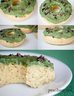 Savory Avocado Donut (gluten-free, vegan, soy-free, low sugar)