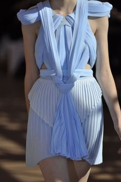 Dion Lee; ahhh periwinkle and cerulean blue you have the key to my heart