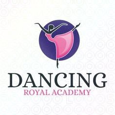 Dancing Academy Logo Template for sale