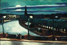 Max Beckmann,  Moon Landscape