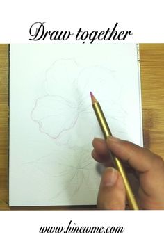 Realistic Flower Drawing, Hibiscus Flower Drawing, Cute Flower Drawing, Easy Flower Drawings, Beautiful Flower Drawings, Flower Drawing Tutorials, Colorful Drawings, Daisy Drawing, Drawing Tutorials For Kids