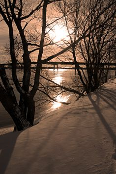 St-Jean-sur-Richelieu, Quebec, Canada Cool Pictures, Cool Photos, Canada, Winter Scenery, Water Me, Snow Scenes, Quebec City, Landscape Photos, Oh The Places You'll Go