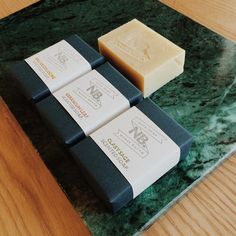 Wrapping our hand made scented soaps ready for a new stockist this morning. These summer scents will be equally welcome in a morning shower or a slow evening soak. #notabenewares #scentedsoap