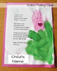 Katie's Nesting Spot: Preschool Mother's Day Celebration
