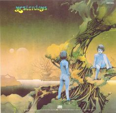 Roger Dean album cover for Yesterdays Yes