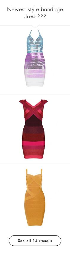 """Newest style bandage dress,!!!"" by celebindress ❤ liked on Polyvore featuring dresses, sexy dresses, sexy red dress, red bandage dress, sexy bandage dresses, red ombre dress, blue strapless dress, bandage dress, blue day dress and sexy strapless dress"