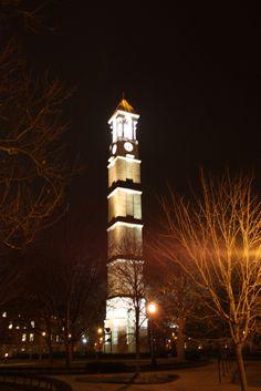 Purdue Bell Tower - dedicated October 1995