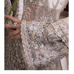 Inspired by fairy-tales, Élan bridal couture delivers fantasy and romance to our brides with looks that captivate the imagination and… Latest Bridal Dresses, Desi Wedding Dresses, Wedding Wear, Pakistani Bridal Lehenga, Pakistani Dress Design, Pakistani Dresses, Sabyasachi, Hand Work Embroidery, Embroidery Suits
