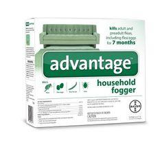 DOG FLEA SPRAYS - ADVANTAGE HOUSE FOGGER - 3X2 OZ - BAYER HEALTHCARE LLC - ANIMAL - UPC: 724089794277 - DEPT: DOG PRODUCTS