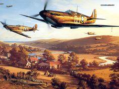 Air Combat Art (Vol.03) : Aviation Paintings of World War II : by Nicolas Trudgian