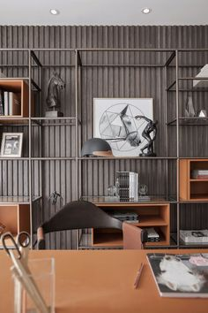 Things That You Need To Know When It Comes To Industrial Decorating You can use home interior design in your home. Even with the smallest amount of experience, you can beautify your home. Office Interior Design, Office Interiors, Interior Decorating, Shelf Design, Cabinet Design, Cabinet Furniture, Furniture Design, Muebles Living, Bookcase Shelves