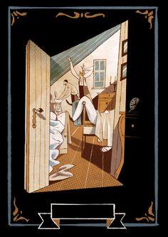 "ìillustrations for ""Three men in a boat"" J.K.Jerome - Eli Readers"
