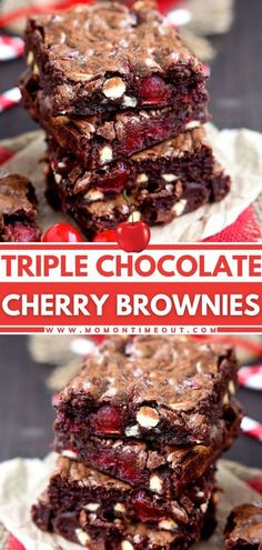 These fudgy brownies will be your new favorite! Not only is this Valentine's Day dessert idea packed full of chocolate flavor, but it is also studded with maraschino cherries. There is nothing but� More