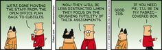 Move To Cubicles Is Complete - Dilbert by Scott Adams