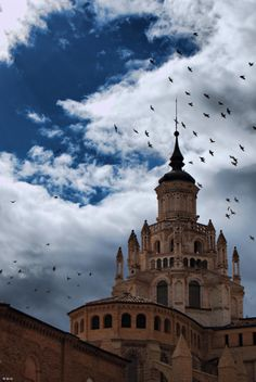 Cimborrio de la Catedral de Tarazona (Aragón)