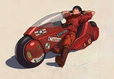 Shoutarou Kaneda Manga Anime, Anime Mangas, Video Game, Akira Anime, Science Fiction, Nerd, Katsuhiro Otomo, Neo Tokyo, Art Cart
