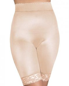 0b5213668 Rago Shapewear Long Leg Shaper Gripper Lace Bottom Beige Sm on SRNB  Entertainment Adult Store