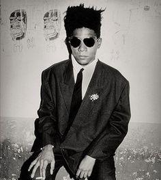 Jean-Michel Basquiat, Palladium, NYC | by Roxanne Lowit