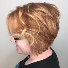 Messy-Blonde-Stacked-Bob Bob Hairstyles for Women Over 50 – Be Hot And Happening Bob Hairstyles 2018, Hot Haircuts, Blonde Bob Hairstyles, Bob Haircuts For Women, Layered Bob Hairstyles, Short Hairstyles For Women, Modern Bob Haircut, Modern Haircuts, Modern Hairstyles