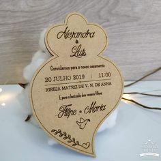 Convite coração de viana com envelope para casamentos Personalized Items, Box Invitations, Air Balloon, Weddings, Bridesmaids