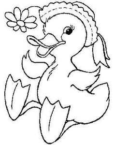 Easter Coloring Pages, Coloring Pages To Print, Coloring Book Pages, Coloring Pages For Kids, Coloring Sheets, Applique Patterns, Craft Patterns, Embroidery Stitches, Embroidery Designs