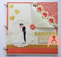 Fazendo Meu Casamento: Livro de assinaturas casamento coral e marfim
