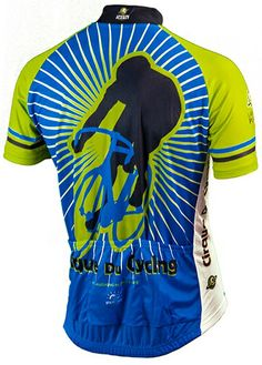 Cirque du Cycling Jersey - Back View - FREE shipping in the US at http://www.cyclegarb.com/brainstorm-gear.html