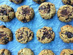 Gluten Free, Nut Free and Vegan Chocolate Chip Cookies   #healthyrecipe #vegancookies #veganchocolatechipcookies